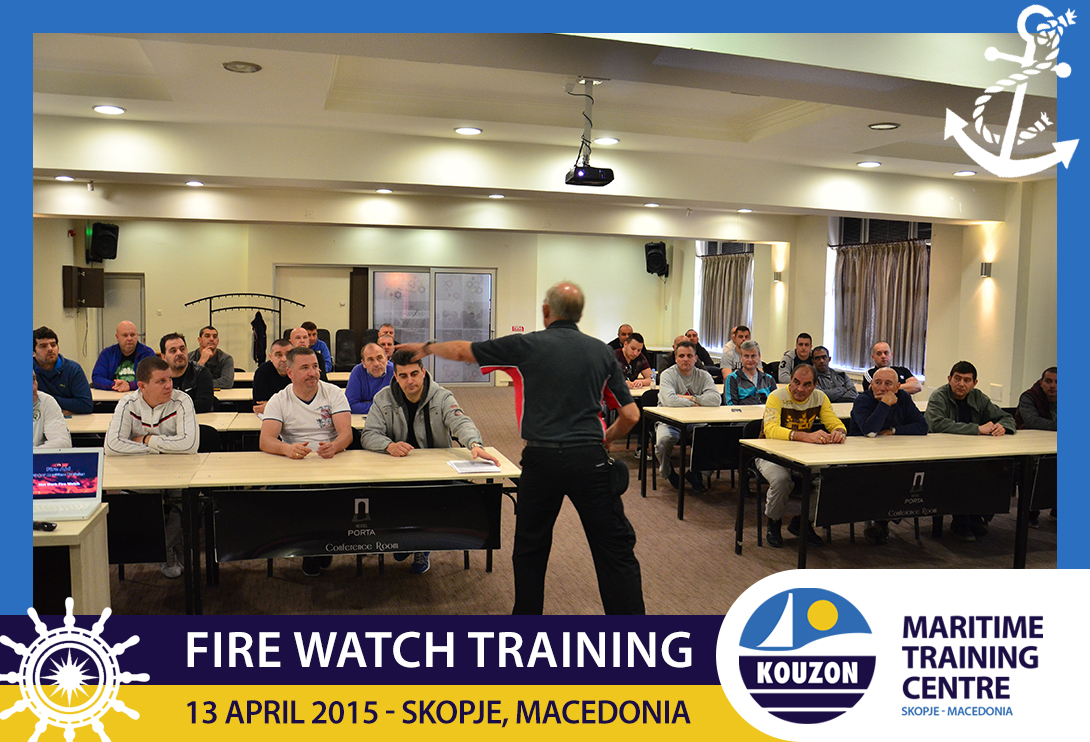 Kouzon Corporation Kouzon Maritime Training Center Fire Watch Training Kouzon Corporation