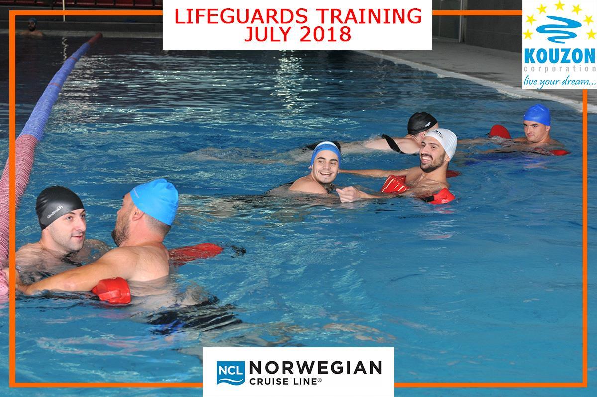 Kouzon Corporation Lifeguards Training For Norwegian Cruise Line Kouzon Corporation
